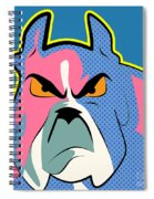 Pop Art Dog  Spiral Notebook