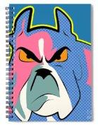 Pop Art Dog  Spiral Notebook