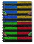 Pop Art Pears Spiral Notebook