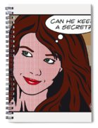Pop Art Porn Stars - Mia Sollis Spiral Notebook