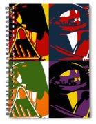 Pop Art Vader Spiral Notebook
