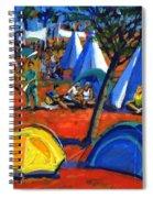 Pop Festival Spiral Notebook