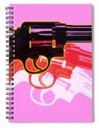 Pop Handgun Spiral Notebook