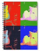 Pop Kitty Spiral Notebook