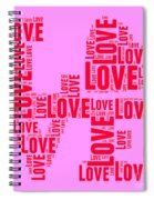 Pop Love 4 Spiral Notebook
