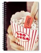 Popcorn Box Office Spiral Notebook