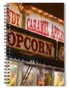 Popcorn Spiral Notebook