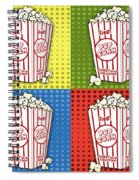 Popcorn Pop Art-jp2375 Spiral Notebook