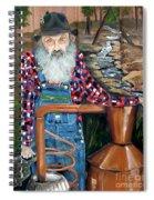 Popcorn Sutton - Bootlegger - Still Spiral Notebook