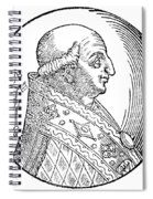 Pope Gregory II (d Spiral Notebook