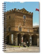 Popes Palace Spiral Notebook