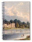 Popes Villa At Twickenham, 1828 Spiral Notebook