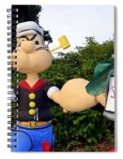 Popeye The Sailor Man Spiral Notebook