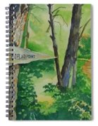 Poplar Point Camp Spiral Notebook
