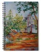 Poplar Point Lighthouse Spiral Notebook