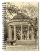 Popp Bandstand Sepia Spiral Notebook