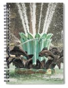 Popp Fountain In City Park New Orleans Spiral Notebook