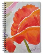 Poppies 1 Spiral Notebook