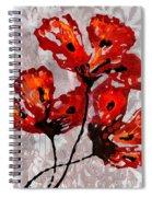 Poppies 47 Spiral Notebook