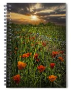 Poppies Art Spiral Notebook