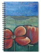 Poppies For Barbara And Paul Spiral Notebook