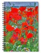 Poppies II Spiral Notebook