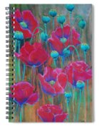 Poppies  Spiral Notebook