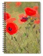Poppies Viii Spiral Notebook