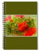 Poppin Poppies Spiral Notebook