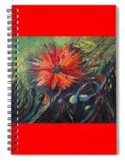 Poppin' Poppies Spiral Notebook