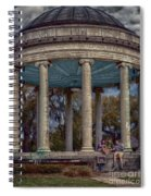 Popps Bandstand In City Park Nola Spiral Notebook