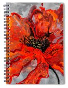 Poppy 41 Spiral Notebook