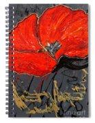 Poppy 43 Spiral Notebook