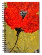 Poppy 46 Spiral Notebook