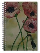 Poppy Breeze A Spiral Notebook
