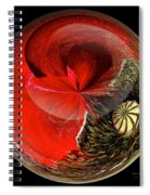 Poppy Globe Spiral Notebook