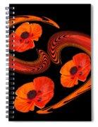 Poppy Love Spiral Notebook