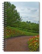 Poppy Path Spiral Notebook