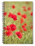 Poppy Red Spiral Notebook