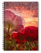 Poppy Sunrise Spiral Notebook
