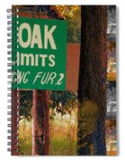 Population 1 Looking Fur 2 Spiral Notebook