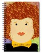 Porcelain Doll 12 Spiral Notebook