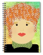 Porcelain Doll 22 Spiral Notebook