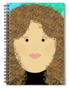 Porcelain Doll 3 Spiral Notebook