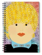 Porcelain Doll 6 Spiral Notebook