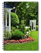 Porch And Garden Spiral Notebook