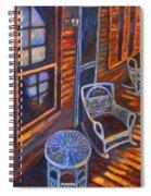 Porch  Spiral Notebook