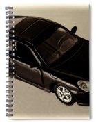 Porche Spiral Notebook