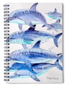 Porpoise Play Spiral Notebook