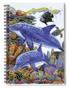 Porpoise Reef Spiral Notebook